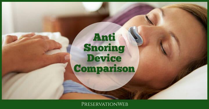 Stop Snoring Mouthpiece Reviews – Anti Snoring Device Comparison