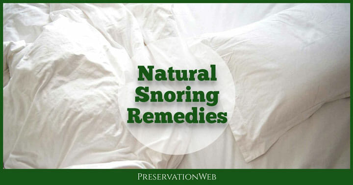 The 6 Effective Natural Snoring Remedies That You Can Use Today